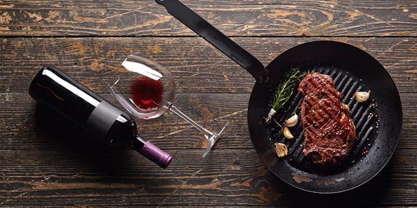 Steak & Wine Pairing