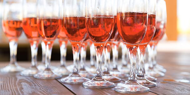 Rosé Wine glasses