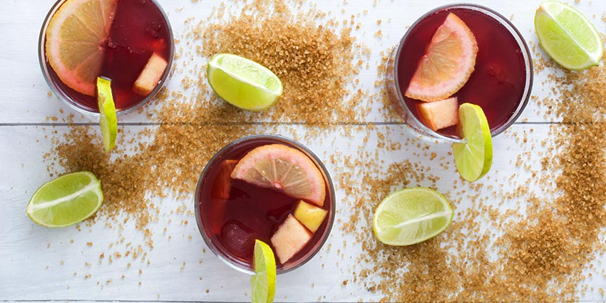wine cocktails sangria