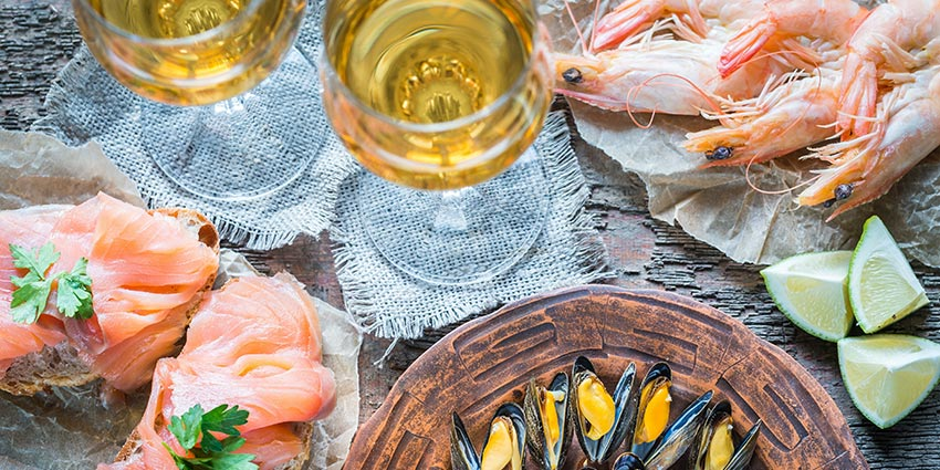 sicilian wines and seafood