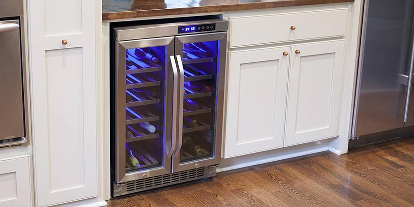 Image Result For Kitchen Island Wine Fridge