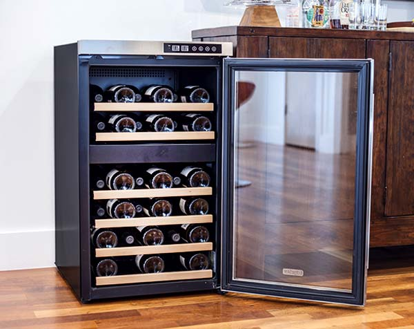 Small Wine Fridge Cabinet Home Decor