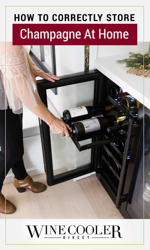 How to Store Champagne at Home - Pin